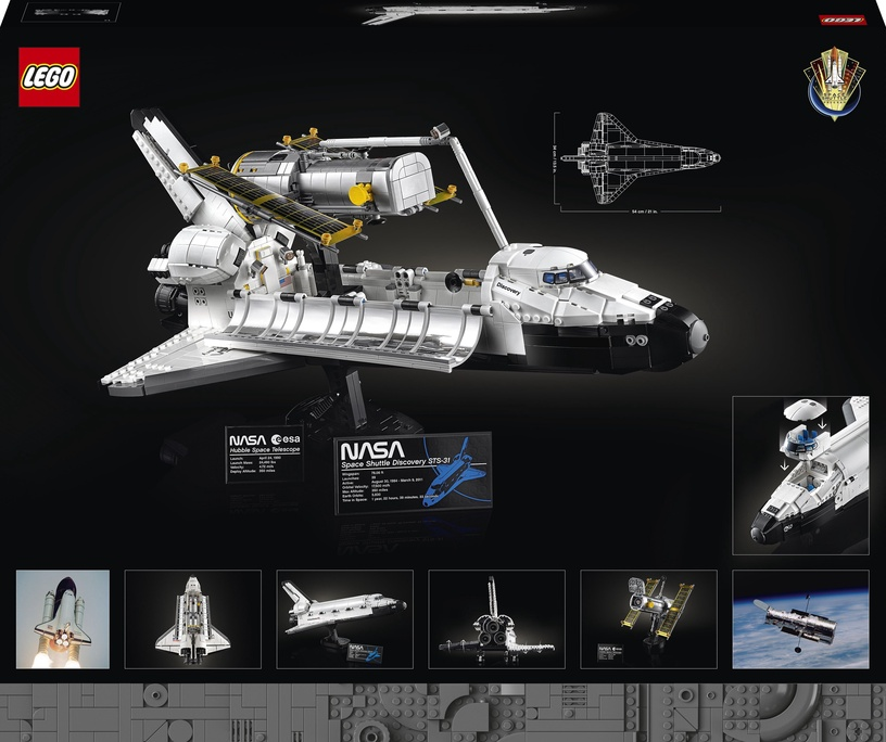 Конструктор LEGO Creator Космический шаттл НАСА «Дискавери» 10283, 2354 шт.