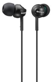 Ausinės Sony MDR-EX110LP EX Monitor Headphones Black