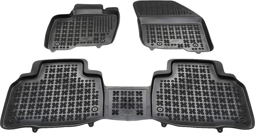 Резиновый автомобильный коврик REZAW-PLAST Ford Edge 2016, 3 шт.