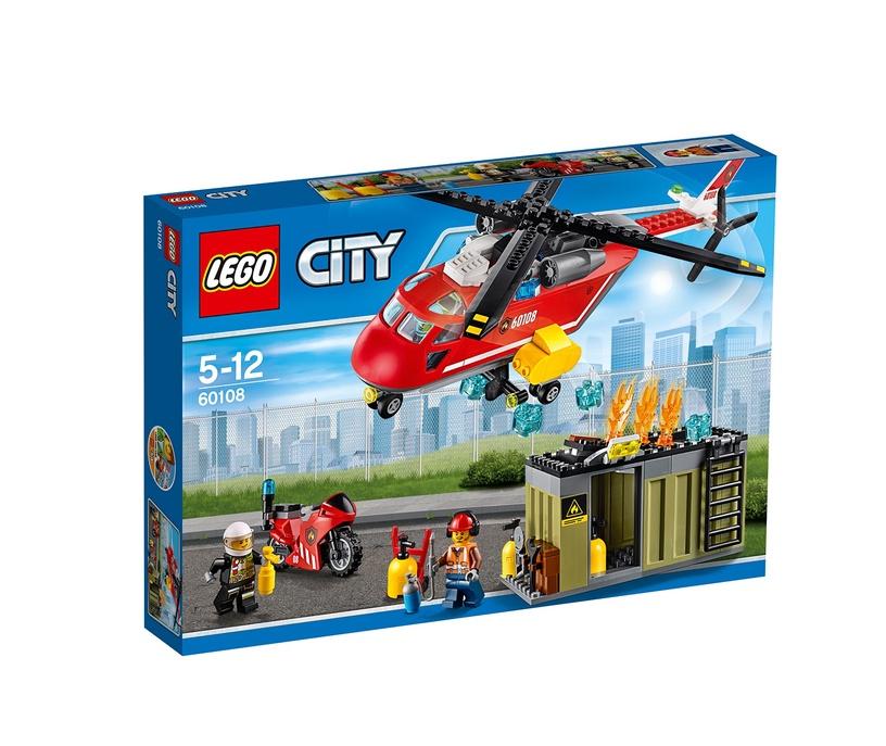 Konstruktor Lego City 60108 Tuletõrjekomando