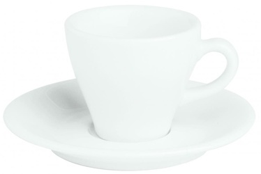 Porland Bella Cup With Saucer 7cl White