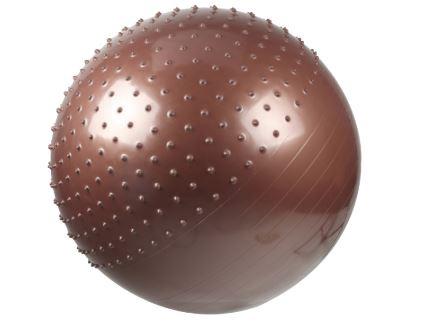 Gimnastikos kamuolys LS3569, pusiau masažinis, 65 cm