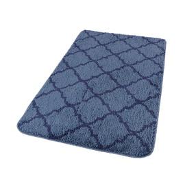 Domoletti Bath Mat 50x80cm Blue Tiles