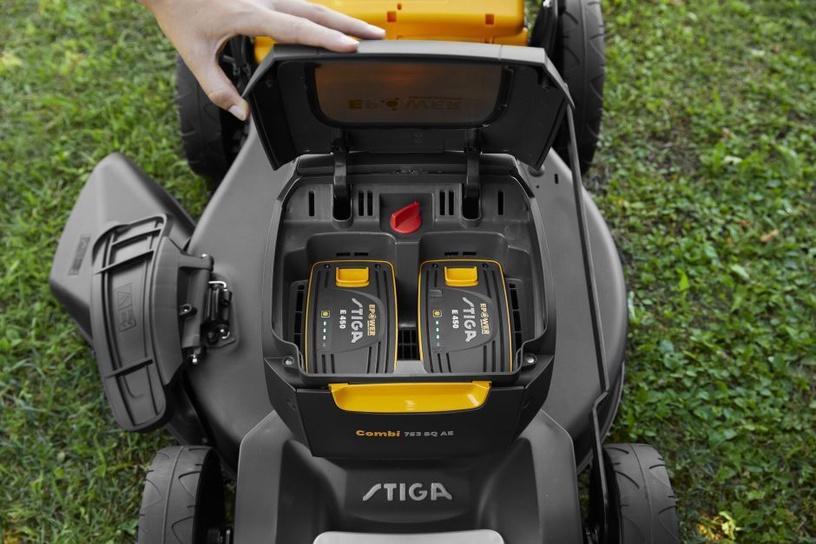Аккумуляторная газонокосилка Stiga Combi 753 SQ AE, без батареи