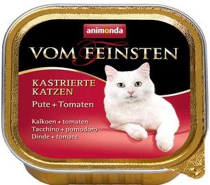 Animonda Vom Feinsten Castrated Cats Turkey & Tomato 100g