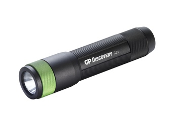 GP Batteries GPACT0C31000 LED Torchlight Black