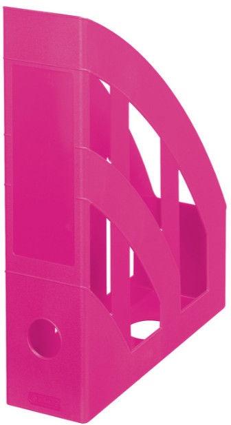 Herlitz Vertical Document Tray Bright Pink