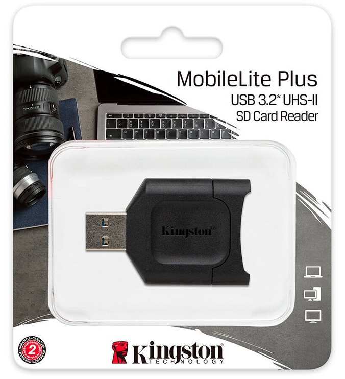 Картридер Kingston MobileLite Plus USB 3.1 SDHC/SD Card Reader