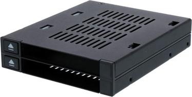 "Icy Dock flexiDOCK MB522SP-B 2x2.5"" To 3.5"""