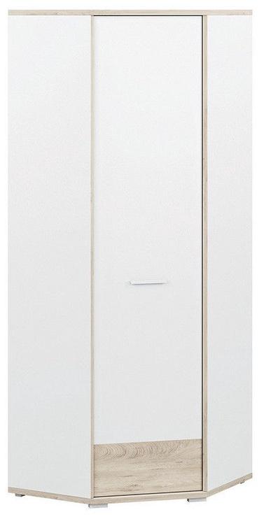 Skapis ML Meble Kubu 13 White, 75x75x200 cm