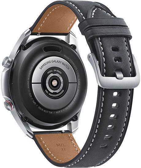 Išmanusis laikrodis Samsung Galaxy Watch3 45mm Wi-Fi Mystic Silver