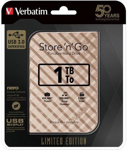 Verbatim Store 'n' Go 2TB Gold