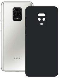 Ksix Silk Back Case For Xiaomi Redmi Note 9 Pro Black