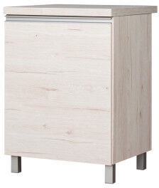 Bodzio Monia Bottom Cabinet 60 Left Pearl Soma Oak