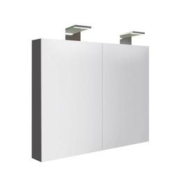 Pakabinama vonios spintelė Raguvos baldai Terra MC4DM/80-70/D3, pilka