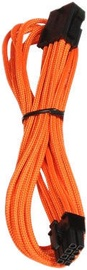 BitFenix 6+2pin PCIe Extension Cable 45cm Orange/Black
