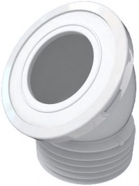 Ani Plast W4228 WC Connection Pipe Angle Hard 110mm