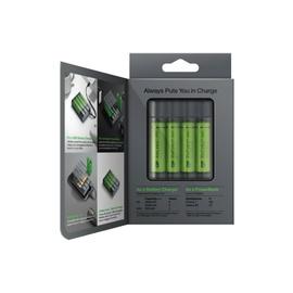 Arējās uzlādes akumulators  GP, AA, AAA