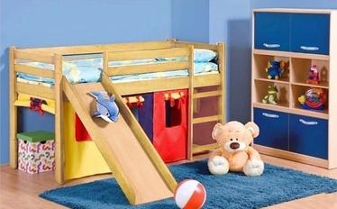 Vaikiška lova Neo Plus pušies spalvos, 80 x 190 cm