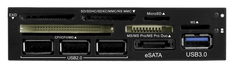 RaidSonic Icy Box 3,5'' Card Reader w/Multiport Panel eSATA