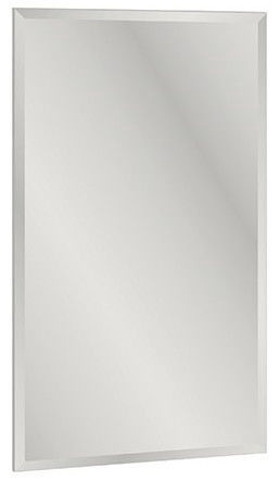 Spogulis ML Meble Blanco 24 White, stiprināms, 55x94 cm