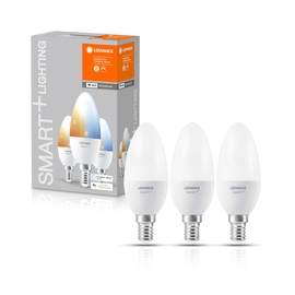 Nutipirn Ledvance LED, E14, B38, 5 W, 470 lm, 2700 - 6500 °K, mitmevärviline, 3 tk
