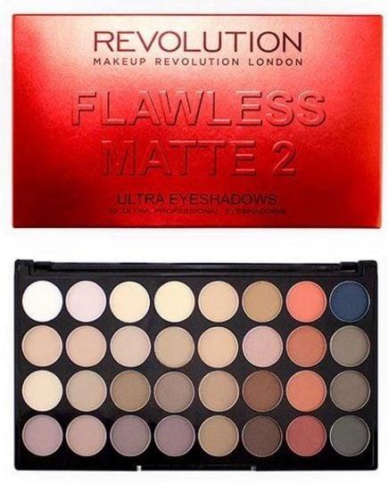 Makeup Revolution London Ultra 32 Shade Eyeshadow Palette 20g Flawless Matte 2