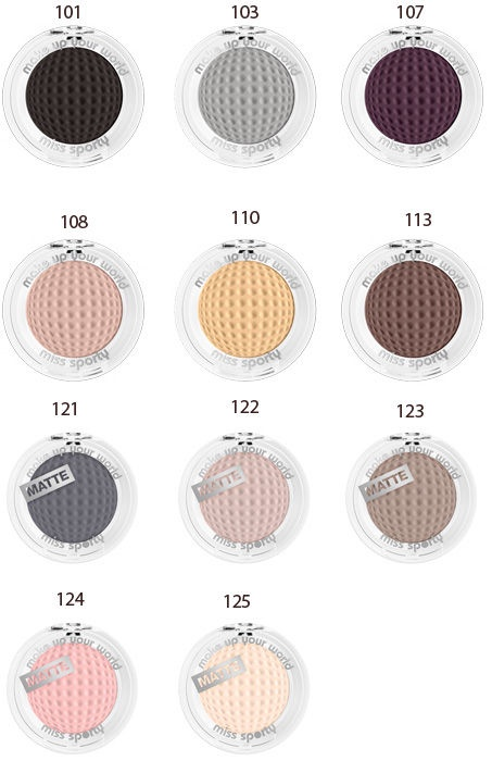 Miss Sporty Studio Color Mono Eyeshadow 2.5g 101