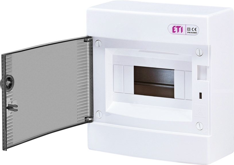 Modulinis skydas ETI ECT8PT, 8 modulių, IP40