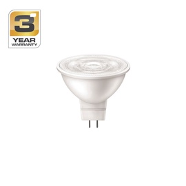 SPULDZE LED 36D 6W GU5.3 WW 12V ND 345LM (STANDART)