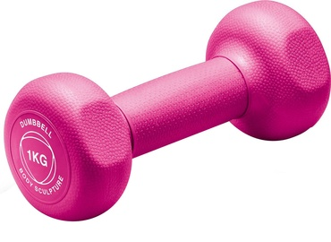 Body Sculpture BW131 Neoprene Dumbbell 1kg Pink