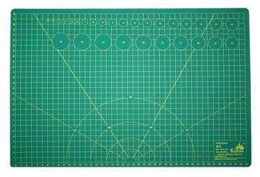 Avatar Cutting Mat Multi Function Plate A3 Green