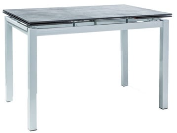 Signal Meble Table Turin Black/White 110x74cm