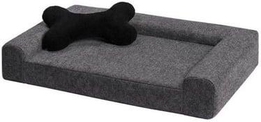 Кровать для животных Myanimaly Simply S, серый, 500x380 мм