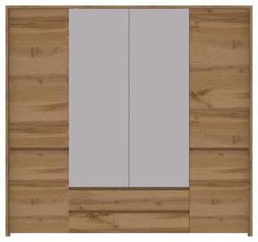 Spinta WIPMEB Tahoe TA-27 4D Wotan Oak, 225.5x56x210 cm, su veidrodžiu