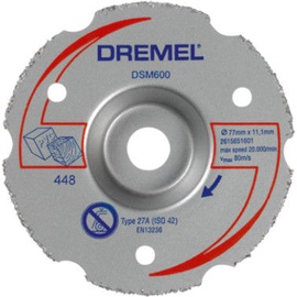Dremel DSM600 Universal Carbide Cutting Disc 77mm