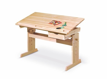 Reguliuojamo aukščio stalas Julia, 109 x 55 x 63 - 96 cm