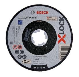 Lõikeketas Bosch X-Lock Inox Cutting Disc 125x2.5mm