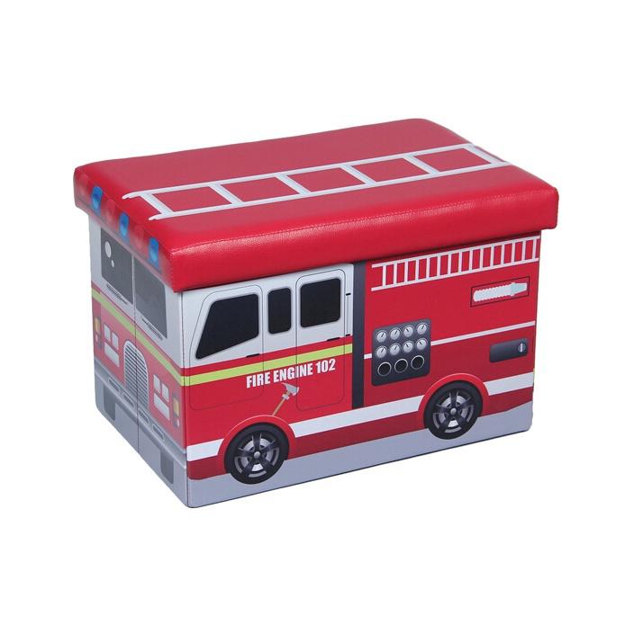Пуф XYZ160111BE Fire Rescue, 48 x 32 x 31.5 см