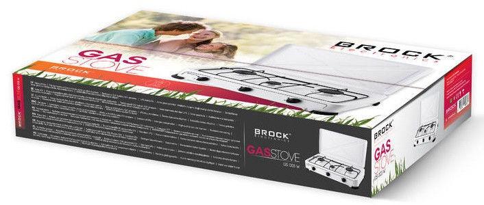 Brock GS 003 Gas Stove White