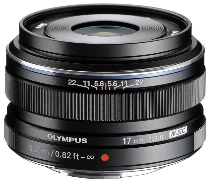Olympus 17mm F1.8 M.Zuiko Digital Black