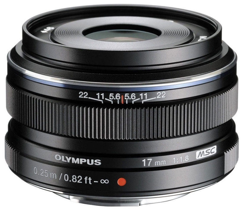 Objektyvas Olympus 17mm F1.8 M.Zuiko Digital Black