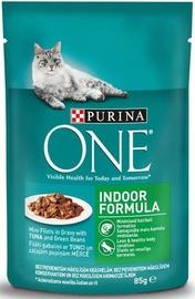 Purina ONE Indoor Formula Tuna And Green Beans 85g