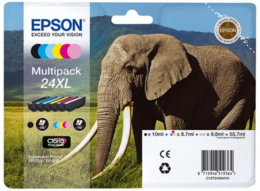 Epson Ink Multipack 6-colours 24XL Claria Photo HD