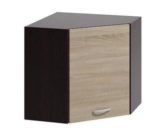 Augšējais virtuves skapītis WIPMEB Livia LV-05/G60 N Sonoma Oak, 600x600x575 mm