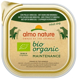 Almo Nature BIO Organic Dog Food Chicken & Broccoli 300g