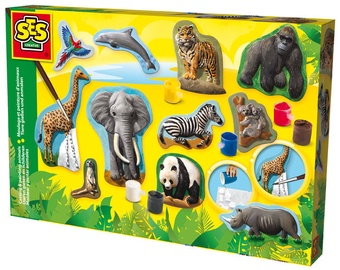 SES Creative Casting & Painting Animals 01132
