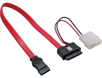 InLine Adapter Cable SATA Slimline Molex