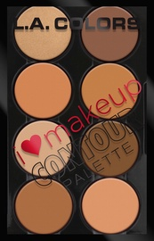 L.A. Colors I Heart Makeup Contour Palette 29g C30352