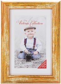 Victoria Collection Photo Frame Coral 10x15cm Yellow